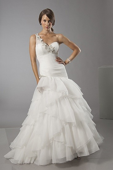 Perfect Alfred Sung Ivory Tulle 6880 Modern Wedding Dress Size 12 (L)   Tradesy Nice Design