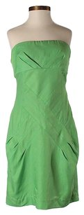 Ali Ro short dress Green Nwt Strapless on Tradesy