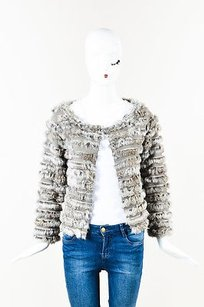 Alice + Olivia Rabbit Fur Sweater