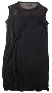 AllSaints short dress Black Shift on Tradesy