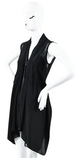 AllSaints short dress Black All Saints Silk Zip Up on Tradesy