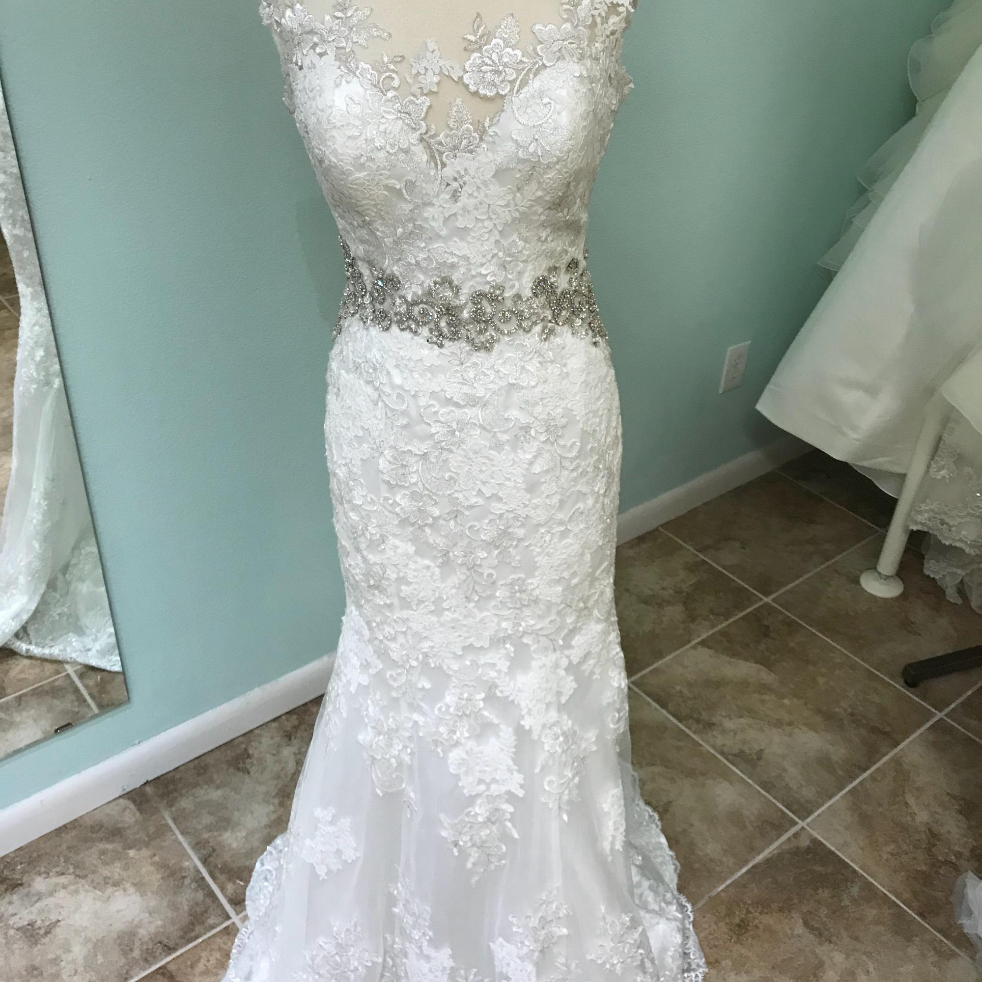 wedding dresses michigan bridals ivory lace 9371 modern wedding dress size 8 9371