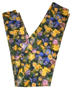 American Apparel Floral 90s Floral/Multi Leggings