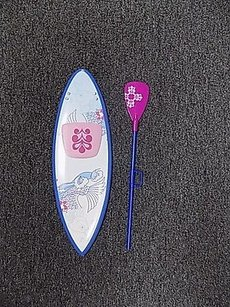 American Girl American Girl Blue Pink White Standup Paddle Board One B2998