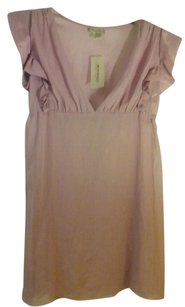 American Rag V-neck Pink Blush Ruffled Top Mauve