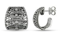 Amour Amour 18k White Gold 1 58 Ct Tdw Diamond Stud Earrings G-h Si1-si2