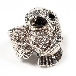 Amrita Singh Amrita Singh Close Up Of The Owl Wing Ring