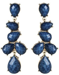 Amrita Singh Amrita Singh Real Housewives Gold Lapis Hamptons Teardrop Earrings Erc 80