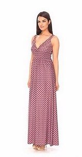 Sangria/Multi Maxi Dress by Amy Matto Multi Color Sangria