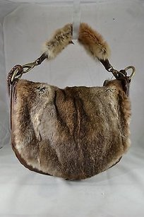 Andrew Marc Leather Shoulder Bag