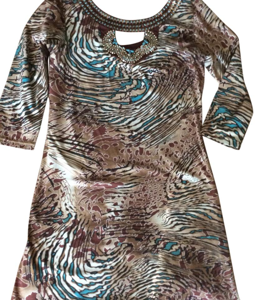 Animal print  Cotton Dress by Joyous & Free