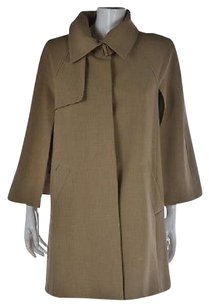 Ann Taylor Womens Beige Basic Xss Speckled 34 Sleeve Casual Coat Multi-Color Jacket