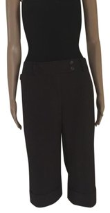 Ann Taylor Capris Dark Brown