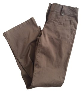 Ann Taylor Flare Pants Brown /taupe