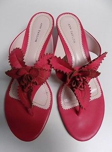 Ann Taylor Kitten Hot Pink Pumps