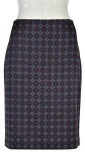 Ann Taylor Pencil Skirt Navy