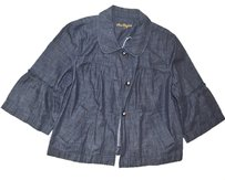 Ann Taylor Petite Coat BLUE DENIM Jacket