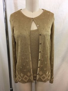 Ann Taylor Metallic Sweater