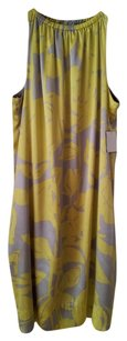 Ann Taylor Sleeveless Evening Silk Dress