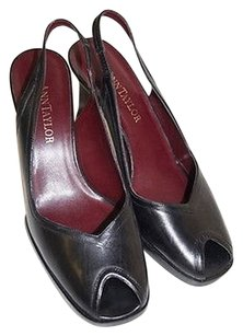 Ann Taylor Slingbacks Blacks Pumps