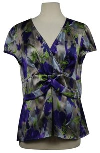 Ann Taylor Womens Top Purple