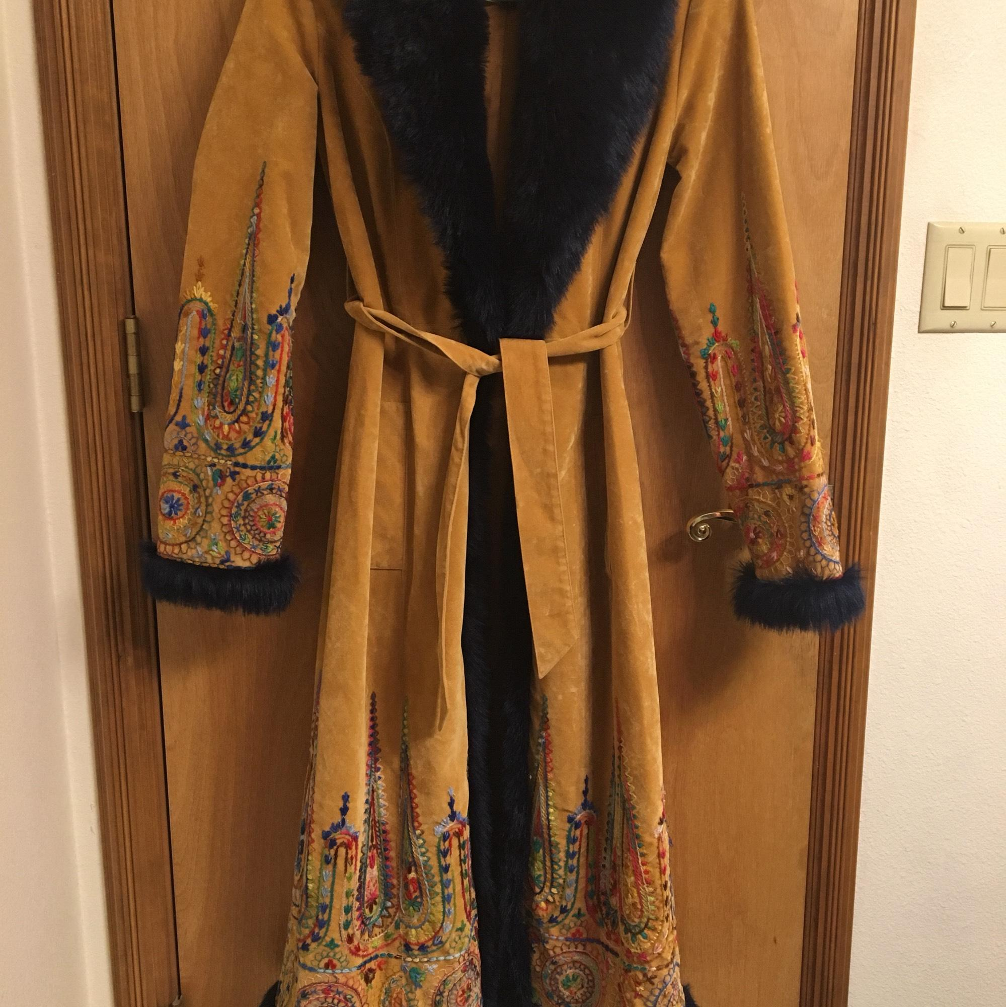 Anna Sui Trench Coat ...