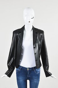 Anne Klein Leather Black Jacket