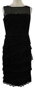 Anne Klein Womens Lace Dress