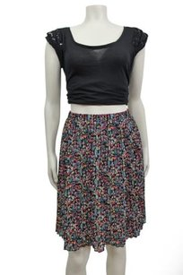 Anthropologie Tabitha Ditsy Floral Georgette Visionary Skirt Multi-Color