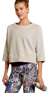Anthropologie Organic Cotton Dolman Sleeves Comfy Top Grey