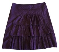 Anthropologie Skirt Purple