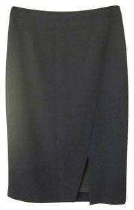 Antonio Melani Midi Skirt Navy Blue