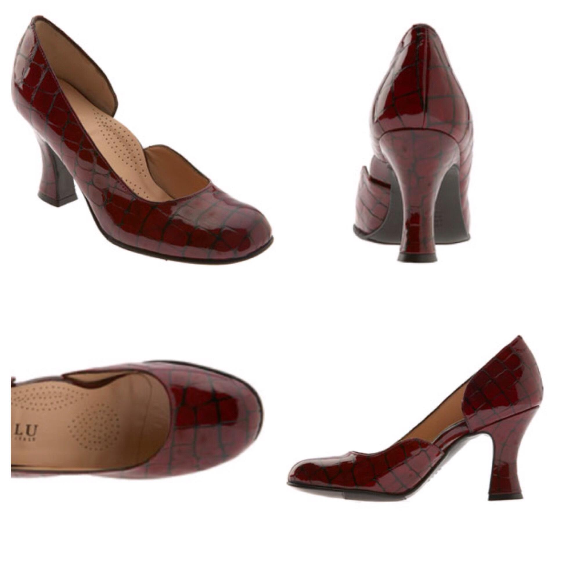 Anyi Lu Patent Leather Round-Toe Pumps free shipping find great best seller online yVTYujzaY