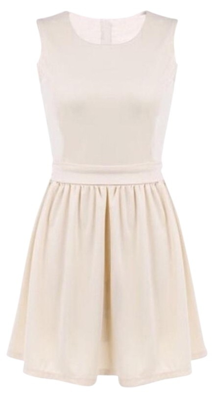 Apricot Bow Knot Dress