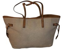 Apt. 9 Leather Tote in Beige