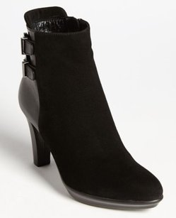 Aquatalia by Marvin K. Roma Suede Black Boots