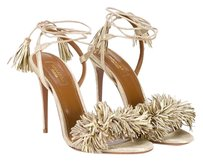 Aquazzura Gold Sandals