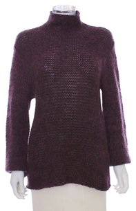 Armani Collezioni Wool Mohair Italian Turtleneck Sweater