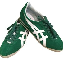 Asics Onitsuka Tiger Suede Green and White Athletic