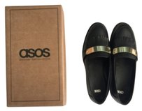 ASOS Black and gold Flats