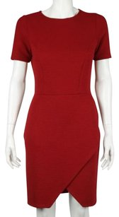 ASOS Womens Ribbed Sheath Dress