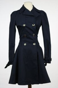ASOS Womens Trench Coat Navy Jacket