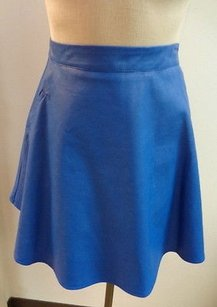 ASTR Royal Electric Mini Skirt Blue