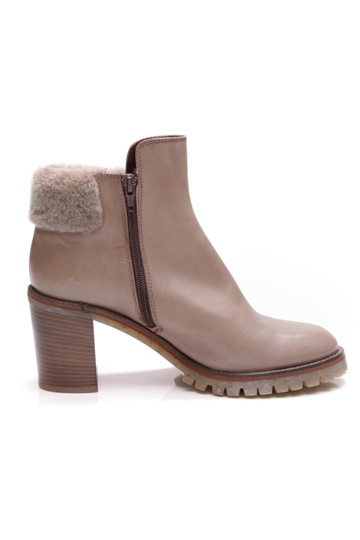 collections for sale AGL Fur-Trimmed Ankle Boots countdown package cheap price ouHdn1FvnM