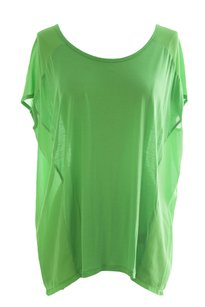 August Silk Womens Augustsilk_111473_mintleaf_s Top