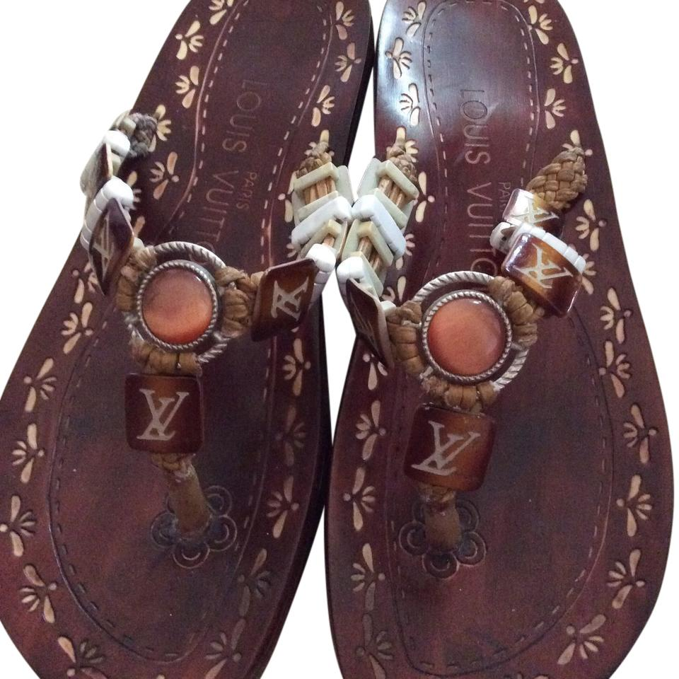 Authentic Louis Vuitton jewelry sandals