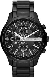 A|X Armani Exchange Armani Exchange Black Stainless Steel Mens Watch Ax2138