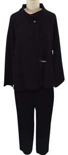 Babette Babette Black Oversize Hook Closure Pant Suit S