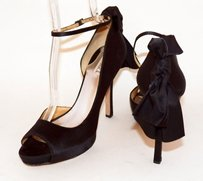Badgley Mischka So Glam Black Pumps