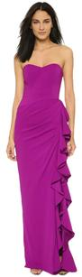 Badgley Mischka Gown Silk Sweetheart Dress